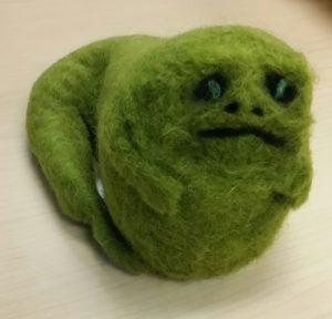 Jabba the Hutt Felted Wool
