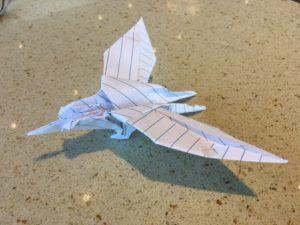 Origami Swallow Art Print by staskhabarov | Society6 | 225x300