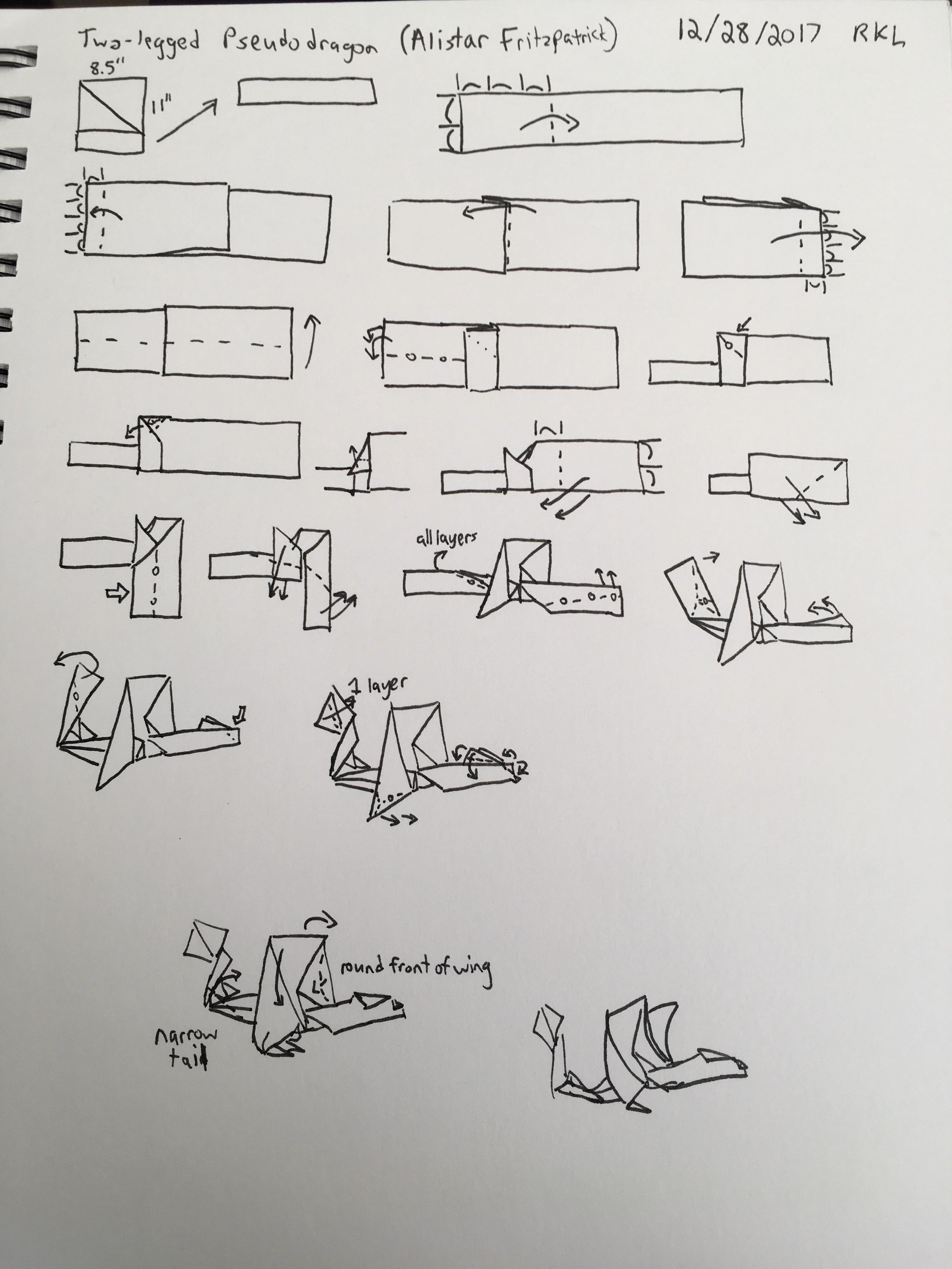 Wie man einen Schlangenkopf Origami falten - genstr.com | 4032x3024