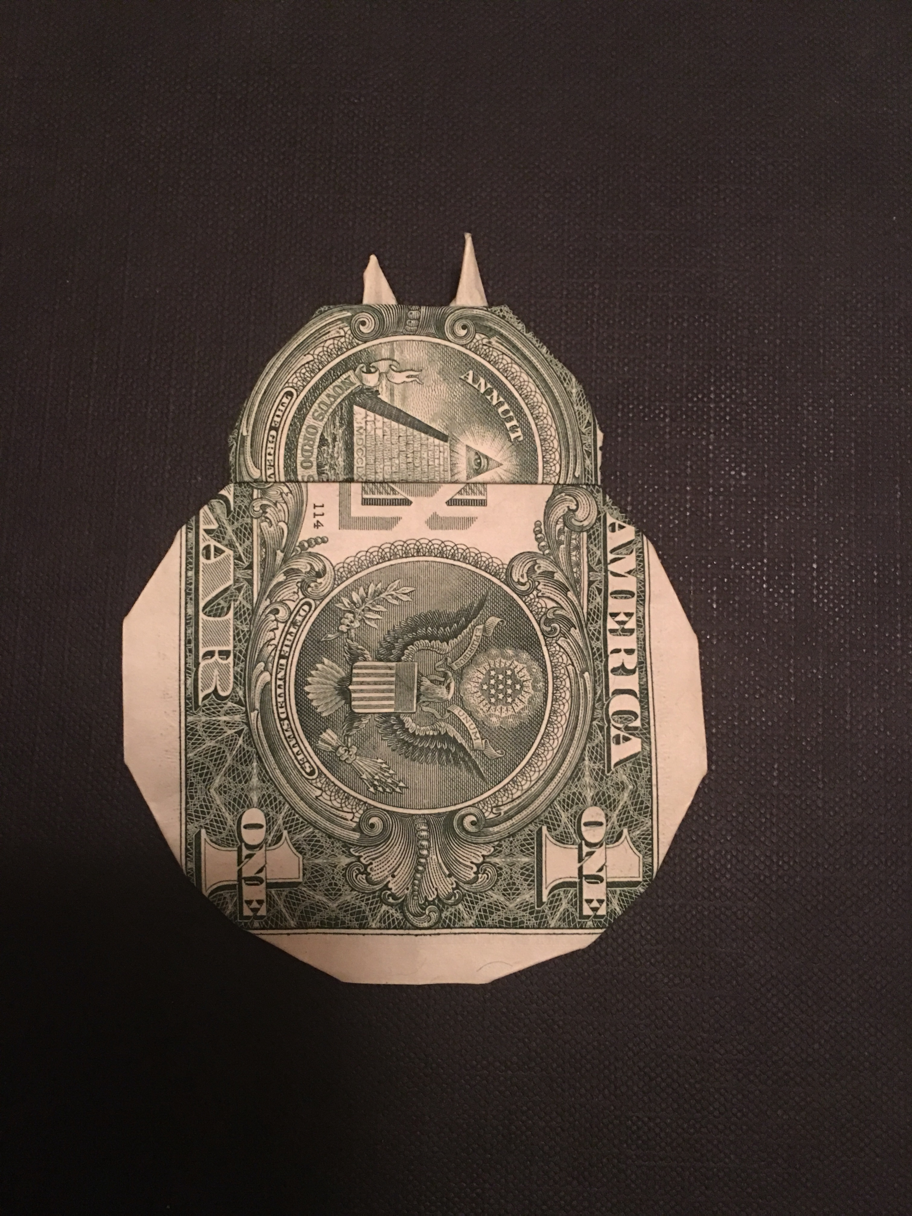 Make a Dollar Bill Origami Ninja Star | 4032x3024